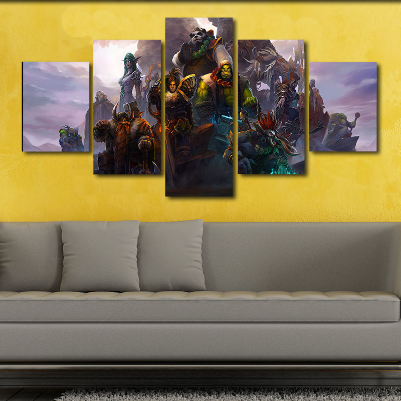 Buy warcraft canvas and get free shipping on AliExpress.com