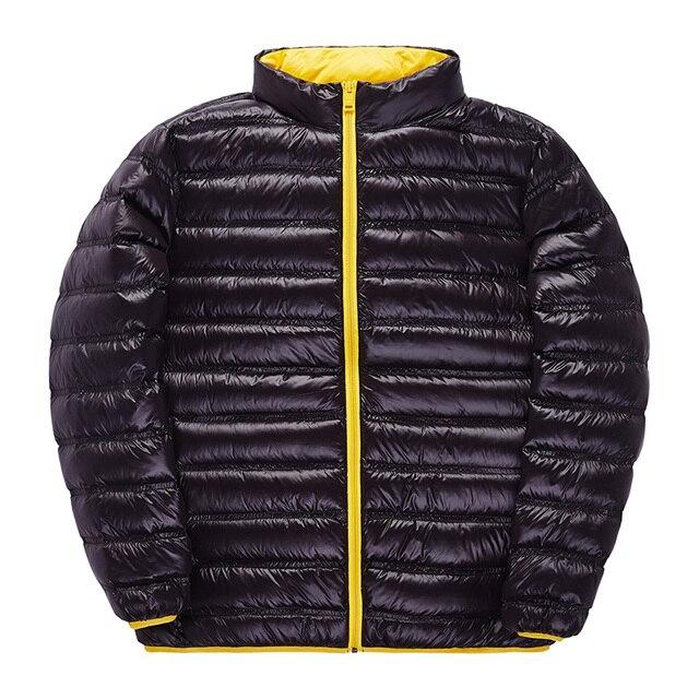 2016 Европа и соединенные Штаты высокого класса Человек зимний Пуховик свет тонкий мужской вниз куртки оптовая 6296