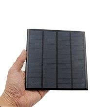 12 В 3 Вт 250мА солнечная панель портативный мини Sunpower DIY модуль панели системы для светильник на солнечных батарейках игрушки телефон зарядное устройство солнечных батарей
