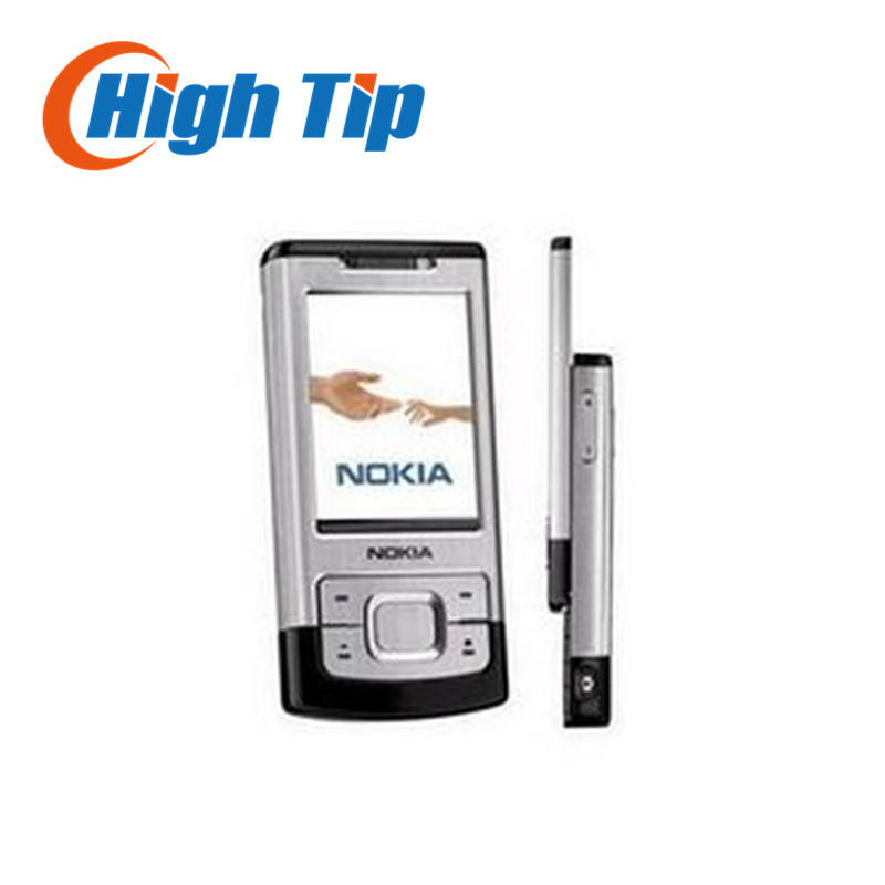 unlocked Nokia original 6500S 6500 Slider mobile phone with 3 15MP Camera Bluetooth 3G Bluetooth free
