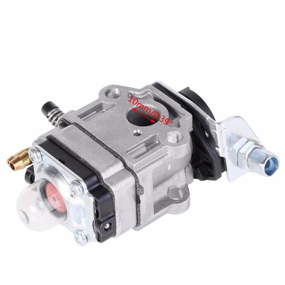 Carburador, 10mm carb w/junta para echo srm 260s 261s 261sb ppt pas 260 261 bc440zwolw sistema de combustível do aparador