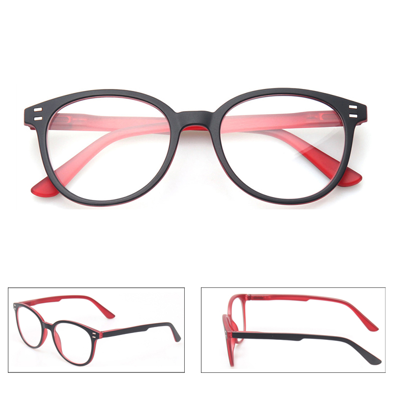 Henotin men and women fashion casual reading glasses oval frame spring hinge design reading glasses diopter 0.5 1.75 3.0 4.0 ...
