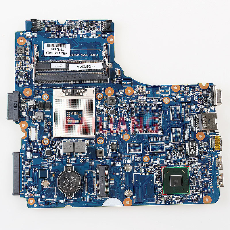 Laptop Motherboard For HP Probook 440 450 G1 PC Mainboard  724331-001 12238-1 48.4YZ34.011 Full Tesed DDR3