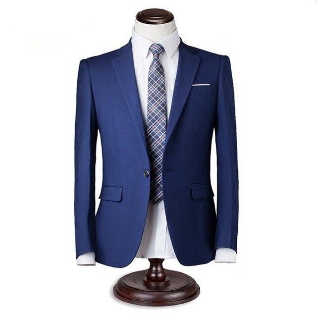 Мужские костюмы куртка на заказ смокинги groom куртка одна кнопка сплошной цвет красивый свадебные дружки костюмы куртка