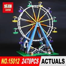 LEPIN 15012 2478 Unids Ciudad Experto Noria Modelo Kits de Construcción de Juguete Ladrillos Bloques Compatible 10247 DIY Regalo de Los Niños Educativos