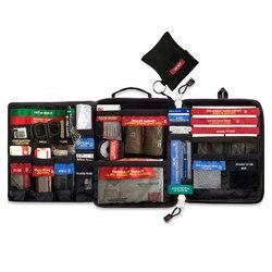 Безопасный дорожный набор для выживания в пустыне, аптечка для путешествий, медицинская сумка, набор для первой помощи на открытом воздухе, ...