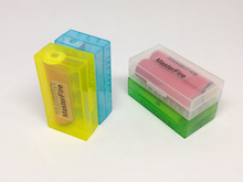 100pcs/lot MasterFire New Hard Plastic Battery Protective Storage Boxes Cases Holder For 18650 18350 CR123A 18500
