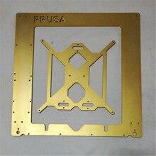 SWMAKER DIY Reprap Prusa i3 3d Printer golden color metal frame Reprap Mendel Prusa i3 aluminum