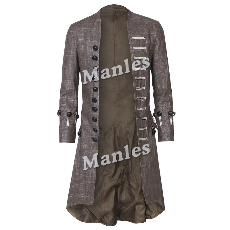 Captain Jack Sparrow Costume Pirates of the Caribbean Cosplay Props Dead Men Tell No Tales Salazar's Costume Outfit Accessories