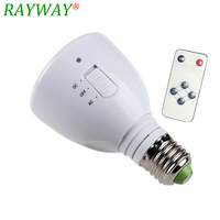 E27 4W 50 LED 240Lm Rechargeable Emergency White Light Flashlight Magic LED Bulb