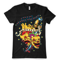 9dc4aca63bc9 Tattoo Factory Studio Design Clown Mashup Tshirt Tee Dtg Tops Wholesale Tee  Custom Environmental Printed Tshirt
