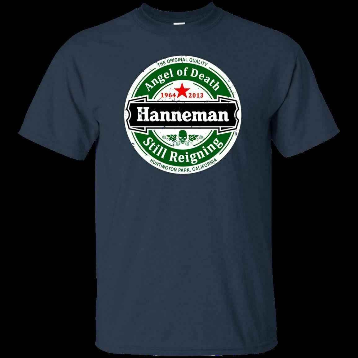 Jeff Hanneman T-Shirt-Slayer nadal panującego anioł śmierci z krótkim rękawem M-3XL