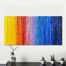 Abstract Oil Painting Colorful Pattern Canvas Art Wall Picture For Living Room Home Decor hand Painted canvas painting Frameless