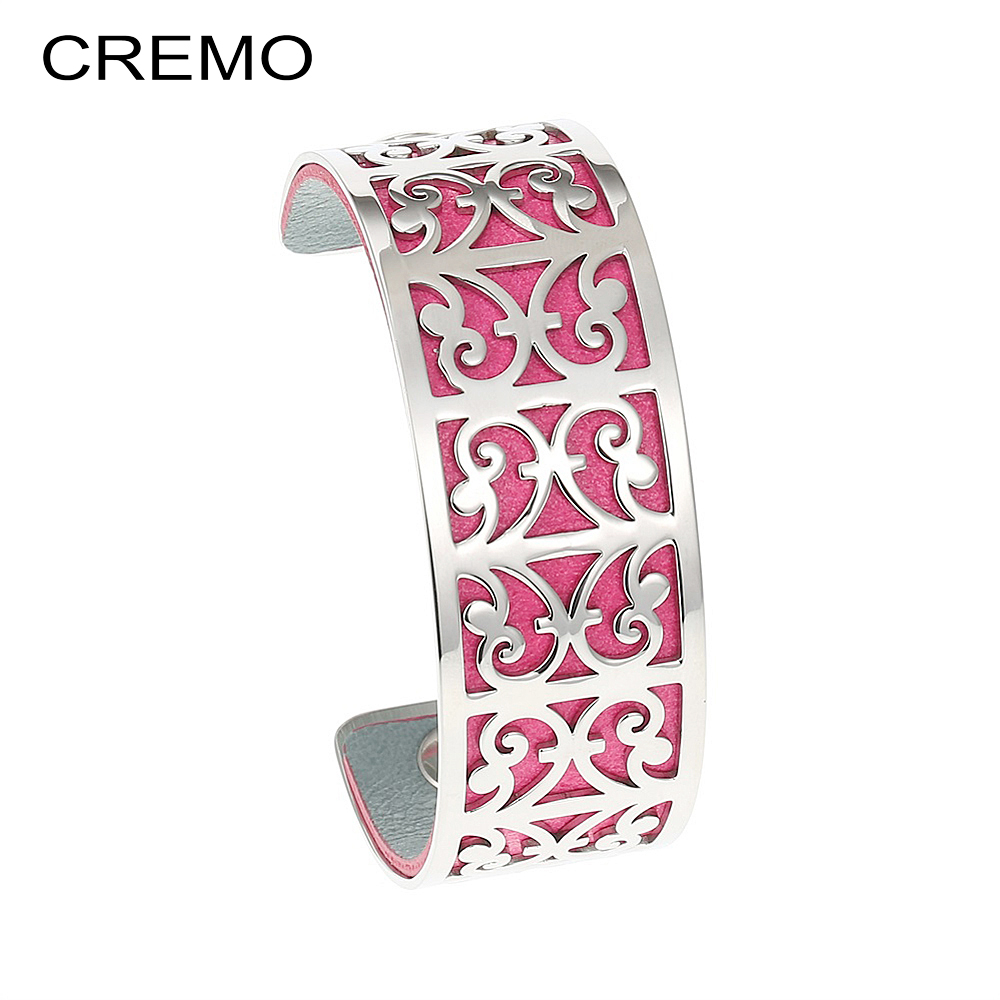 Cremo Goat Bangles Stainless Steel Bracelet Bijoux Femme Hand Cuffs Pattern Bangle Interchangeable Arm Leather Cuff Famous BrandCremo Goat Bangles Stainless Steel Bracelet Bijoux Femme Hand Cuffs Pattern Bangle Interchangeable Arm Leather Cuff Famous Brand