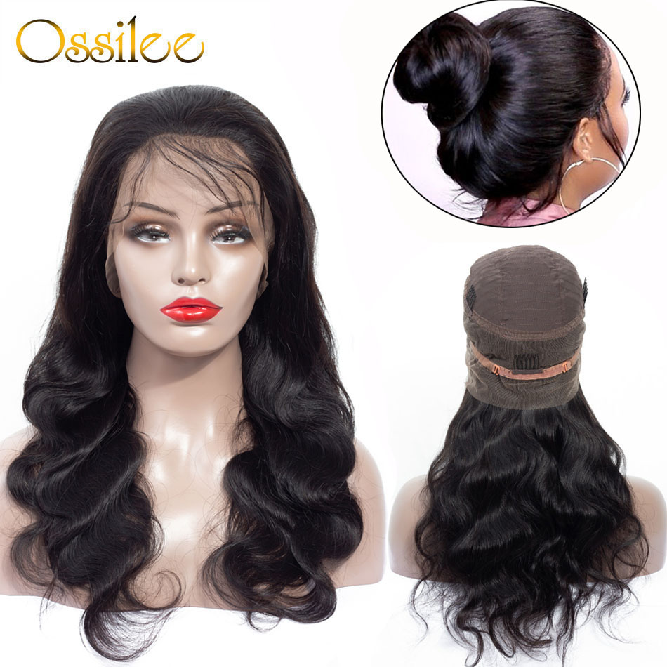Punctual Allrun Human Hair Wigs With Bangs Malaysia Ocean Wave Brazilian Human Hair Wigs Non Remy Hair Short Wigs Full Machine Natural Sale Price Lace Wigs