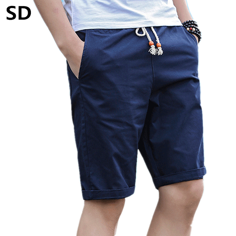 4b95b3f4b9 Slim Fit Casual Shorts Mens Fashion Brand Boardshorts Men Shorts Quick Dry  Bermuda Casual Jogger Plus