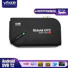 DVB-T2&MI TV BOX Smart 4K Ultra HD 1G 8G Android 7.1 octa core Movie Google Terrestrial TV Receiver Media Player Set top Box