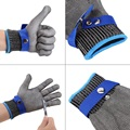 High Performance Safety Gloves Cut Proof Stab Resistant Work Gloves Stainless Steel Wire Glove Cut Metal Mesh Butcher 5 Anti-cut