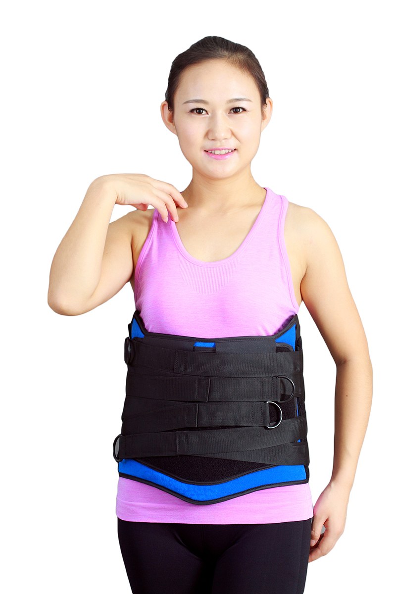 lumbosacral Back Waist Lumbar Spine Orthosis Braces Supports Belt Trainer Training Corset Shaper Cincher American Style high back waist lumbar spine braces supports belt training corset shaper cincher weight loss abdomen tummy slimmer trimmer belt