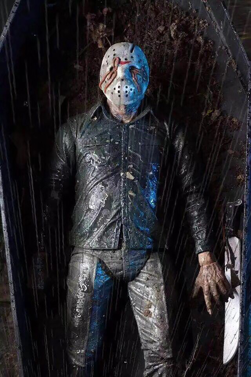 NECA Original Friday The 13th PartV Part5 A New Beginning Jason Voorhees Action Figure Toy Doll  (5)