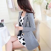 2016 Summer Blazers Women Casual Coats Female Sleeve Outerwear Jackets Loose Women S Clothing White Coat
