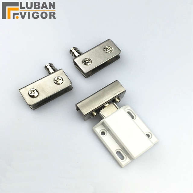 Gl Cabinet Door Hinge Sets Stainless Steel For Bar Cabinets Showcase