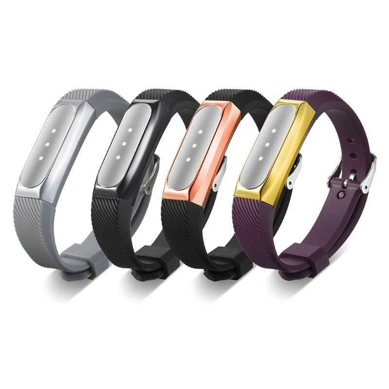 For Xiaomi Mi Band 1 Bracelet Strap For Miband 2 Colorful Metal Strap Wristband Replacement Smart Band Accessories For Mi Band