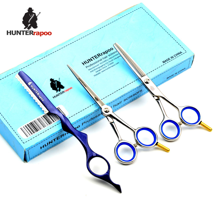 5.5 inch Professional Hairdressing Scissors Shears Kit Barber Cutting Thinning Hair Styling Scissors Set Beauty using Shear new arrival professional 6 inch 440c hair scissors high grade barber styling tool cutting hairdressing shears 2pcs set