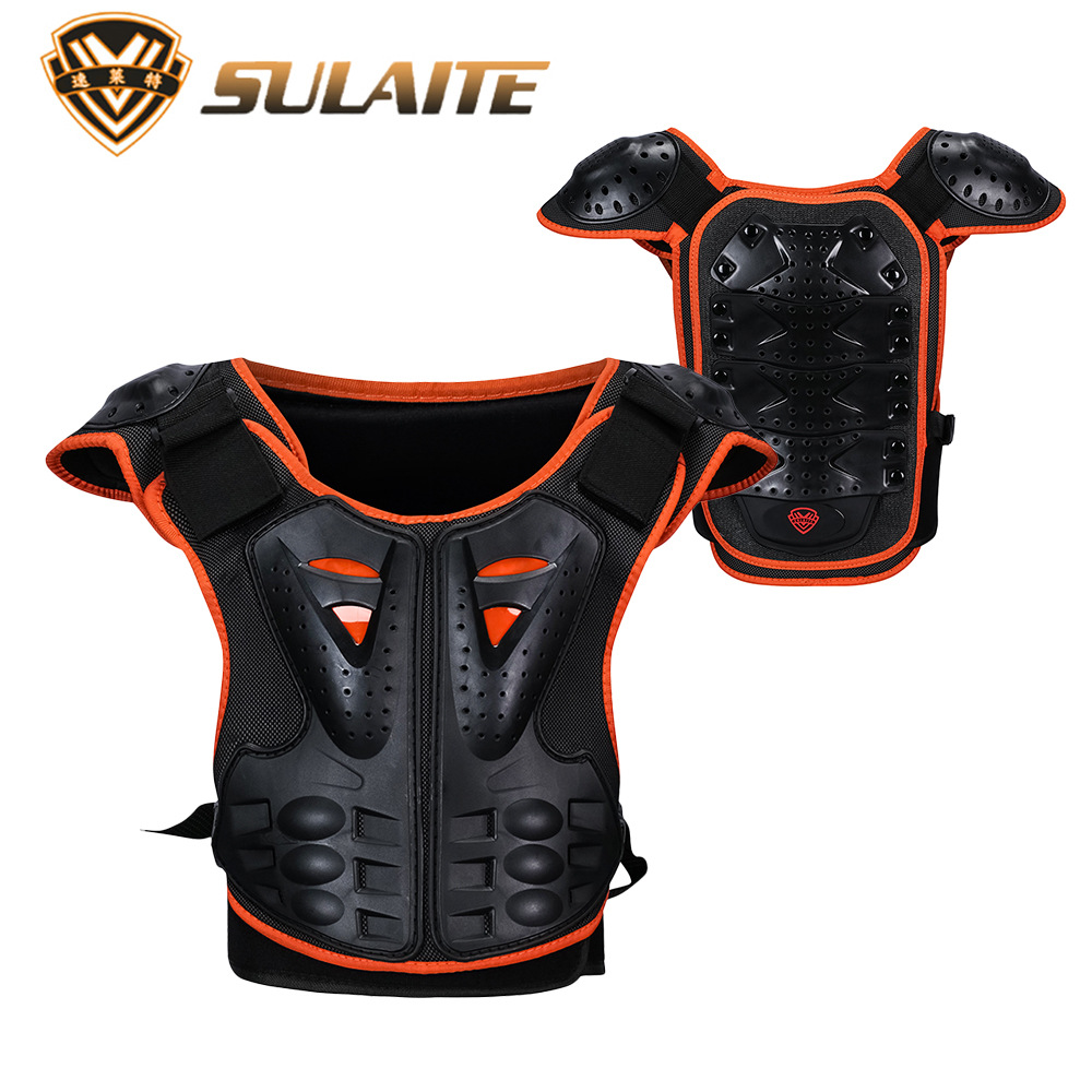 Kids Body Motorcycle Armor Children Armor Vest Protective Suitable for 4-12 Age Skate Board Skiing Pulley Kids JacketsKids Body Motorcycle Armor Children Armor Vest Protective Suitable for 4-12 Age Skate Board Skiing Pulley Kids Jackets