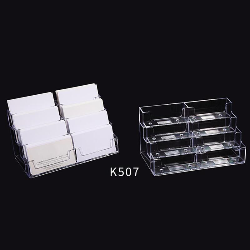 Brilliant Us 1 87 27 Off Vividcraft Desktop Office Business Card Holder Stand Clear Transparent Acrylic Counter Top Display Stand Desk Accessories In Card Gmtry Best Dining Table And Chair Ideas Images Gmtryco