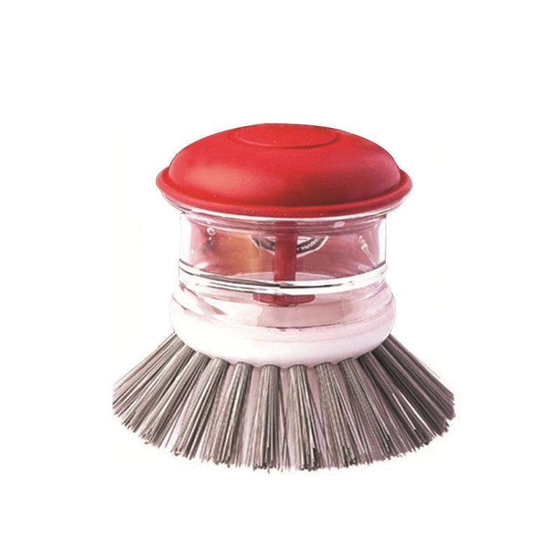 kitchen supplies and sinks scrub brush