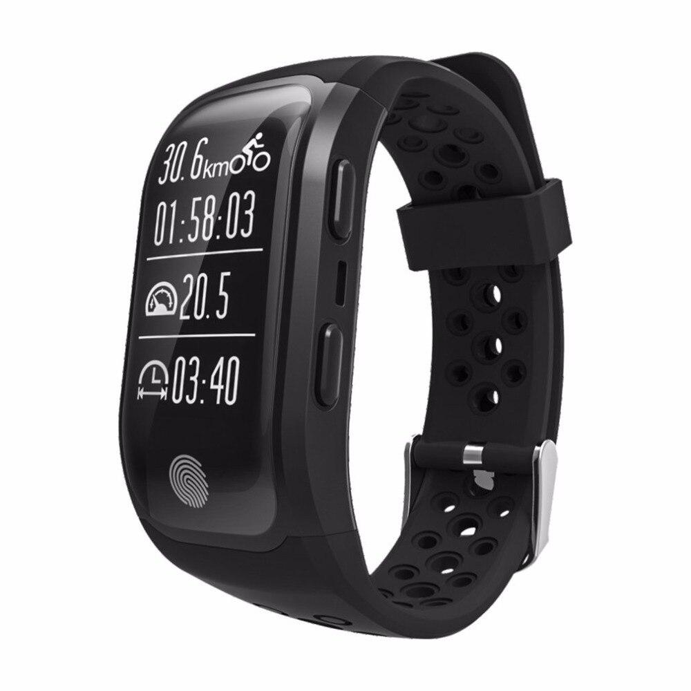 S908 GPS Tracker Smart Watch Message Push IP68 Waterproof Fitness Sports Bracelet Heart Rate Monitor Bluetooth Wristband sports fitness tracker smart watch bracelet i7 bluetooth 4 0 wristband waterproof health heart rate monitor