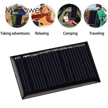 MVPower Portable Mini Epoxy 1 / 3 / 5 Pcs 5V 2W 25mah 45x25mm Polysilicon Solar Panel DIY Power Bank Charging Module