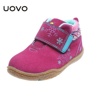 UOVO Boys Shoes Comfortable Shoes Toddler Girls Little Kids Cute Autumn Suede Soft Sole