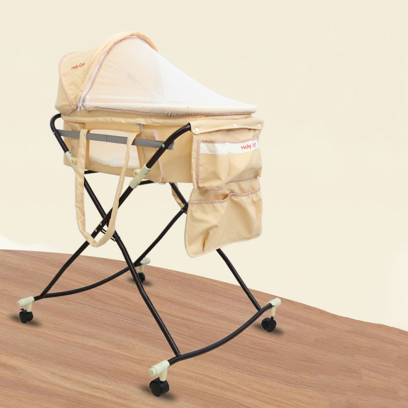 Baby Cradle Portable Car Safety Basket Multi-function Coax Sleeping Basket With Mosquito Net Discharge Cart 2 in 1 cribs baby cradle portable car safety basket multi function coax sleeping basket with mosquito net discharge cart