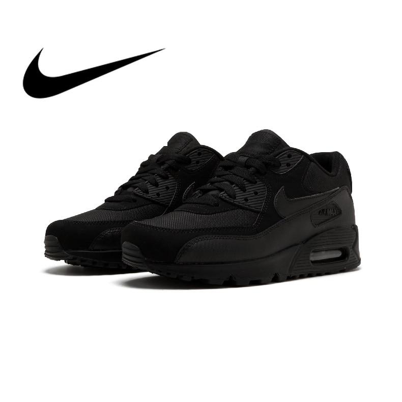 Original auténtico NIKE AIR MAX 90 hombres zapatos clásico desgaste al aire libre deportes zapatos cómodos zapatos transpirables 537384-0-9-0.