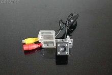 HD CCD Câmera de visão traseira do carro de volta até câmera reversa Para Ford FIESTA 2014 com 4LED para GPS car dvd player À Prova D' Água à prova de choque