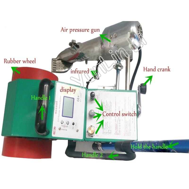 Pvc Automatic Welding Machine 220v 110v Mini Banner