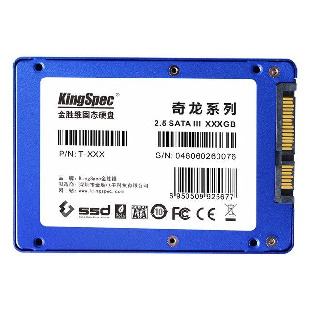 """T серии оригинальных kingspec 7/9. 5 ММ 60 ГБ 2.5 """"HDD/SSD Твердотельный жесткий диск внутренний SATAIII 6 Гбит для ноутбуков/настольных ПК/сервер"""