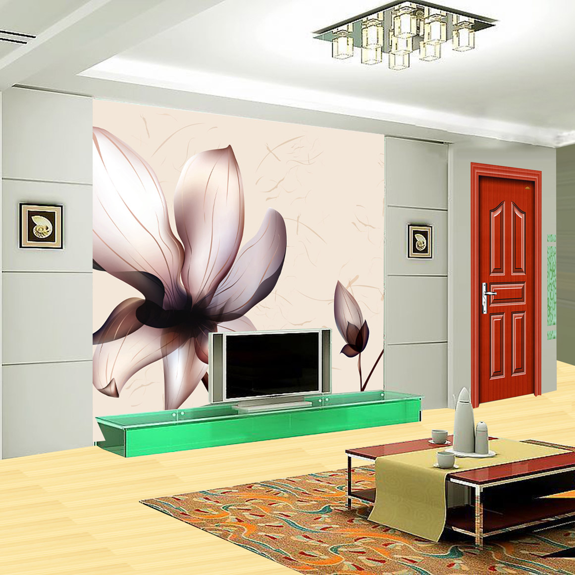 Custom 3D stereoscopic large mural wallpaper fabric wall paper abstract world of the living room bedroom nonwoven lines lotus 3d stereoscopic large mural custom wallpaper living room tv backdrop wall paper bedroom wall painting cartoon film kung fu panda