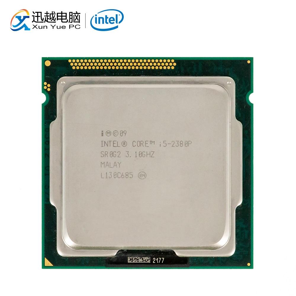 Intel Core I5-2380P Desktop Processor I5 2380P Quad-Core 3.1GHz 6MB L3 Cache LGA 1155 Server Used CPU