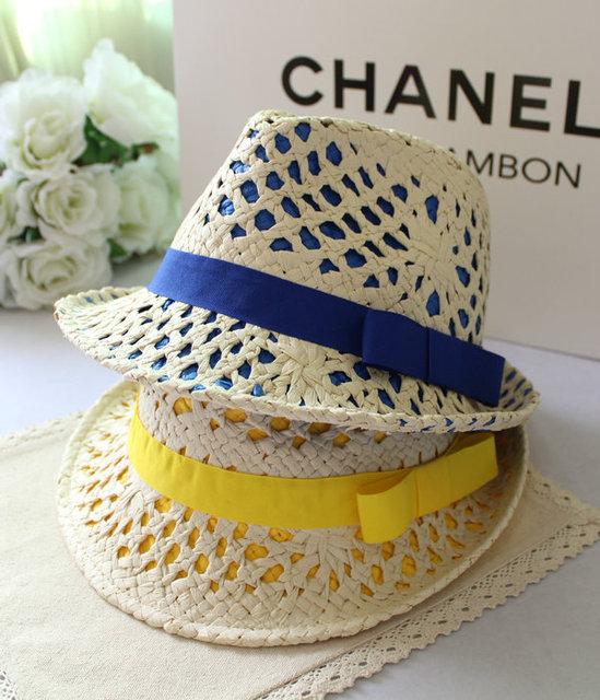 Envío libre multicolor del recorte de doble capa de alta calidad resistente a la radiación anti-ultravioleta del sol-shading strawhat kaki sombrero de las mujeres