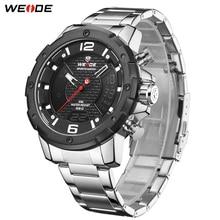 цена на WEIDE Watch Men Tops Brand Luxury Watch Automatic Date Quartz Movement Analog Clock Wristwatches Relogio Masculino Men's Watches