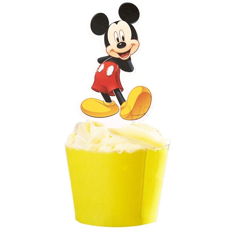 50pcs Mickey Minnie Mouse Mermaid Ariel Princess Winnie the Pooh ...