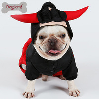 Doglemi Winter Dog Jumpsuit Clothes Cattle King&Cattle Queen Bull Pet Costume Winter Dog Coats for Holloween Christmas Gift