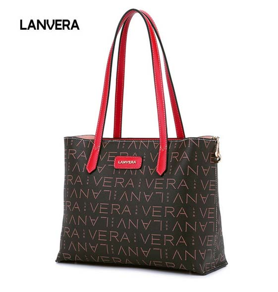 цена на The Original Brand Of Tthe Whole Leather Woman Bag New Letter Ladies Handbag Casual Large Capacity Middle-aged Woman Tote Bag