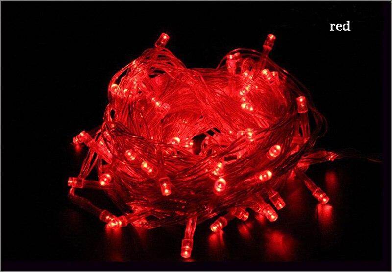 Led string luz luzes de natal à