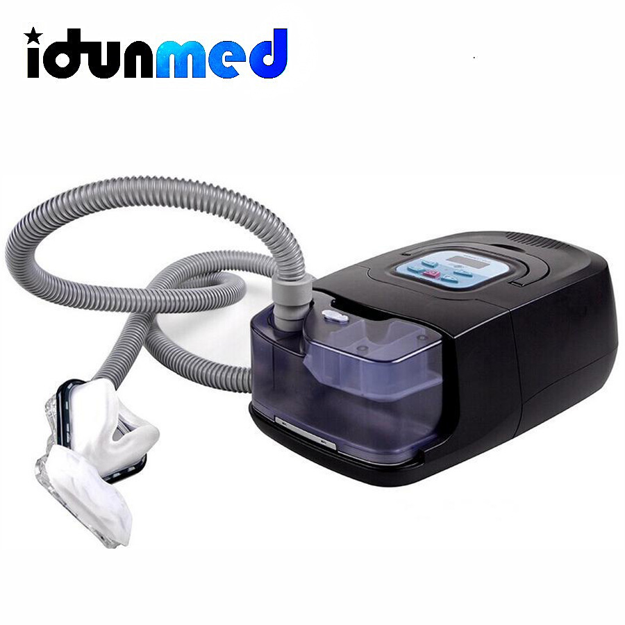 bmc auto cpap machine portable apnea device with cpap nasal pillow silicone mask breathing circuit for sleeping snoring apnea - Cpap Machine Reviews
