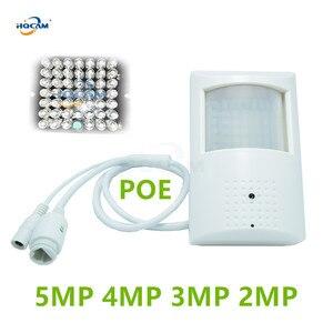 Image 1 - HQCAM POE السرية IR CUT 940nm IR PoE IP كاميرا الصوت البير كاميرا H.265/H.264 2MP 3MP 4MP 5MP XMEYE السرية 5MP IP كاميرا الحركة إنذار