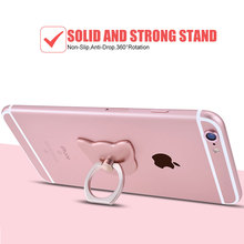 Mobile Phone Case Cute Finger Ring Holder for iPhone